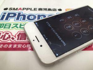 割れたiPhone6