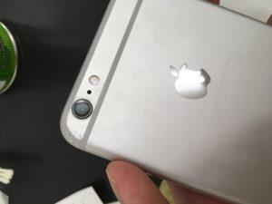 iPhoneカメラレンズ修理後