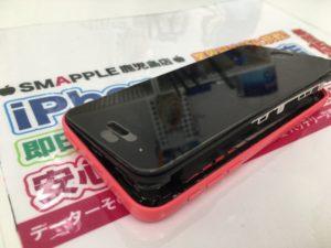 iPhone5Cバッテリー膨張