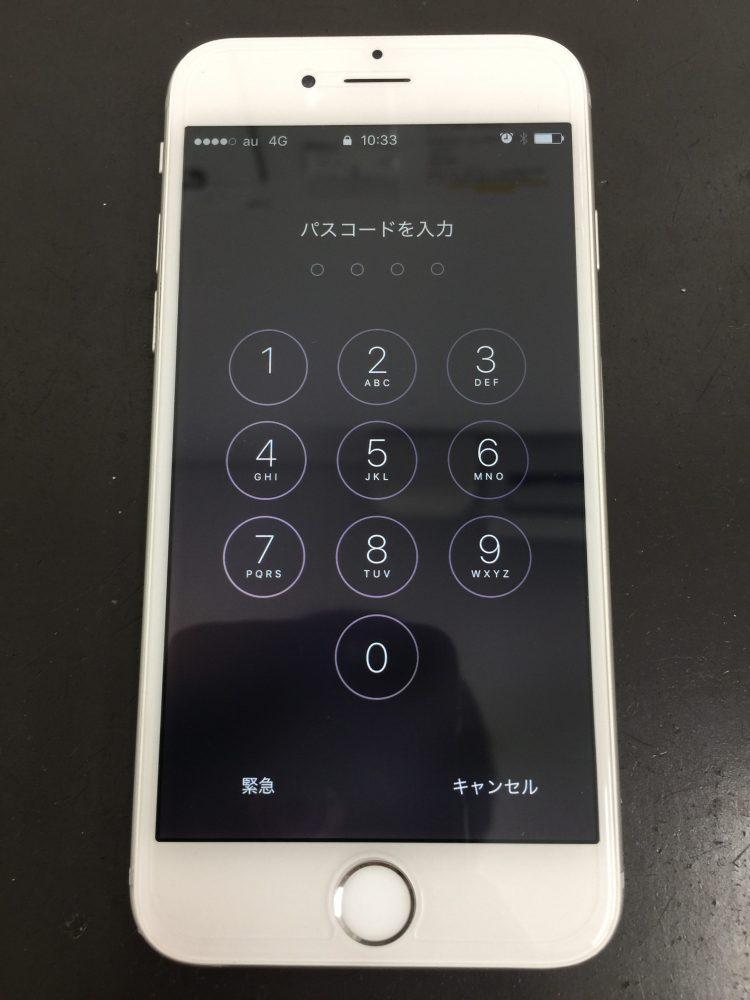 液晶修理で改善されたiPhone6
