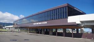 新谷山駅舎画像