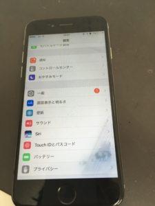 水没復旧したiPhone