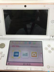 3DSの上画面、何も写ってません