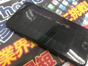液晶破損iPhone6s