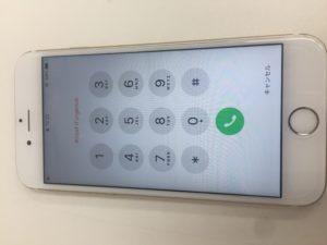 修理後のiPhone6s写真