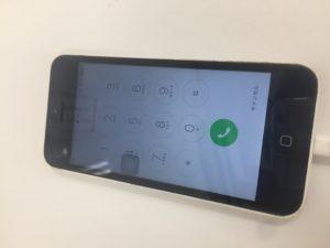 修理後のiPhone5c