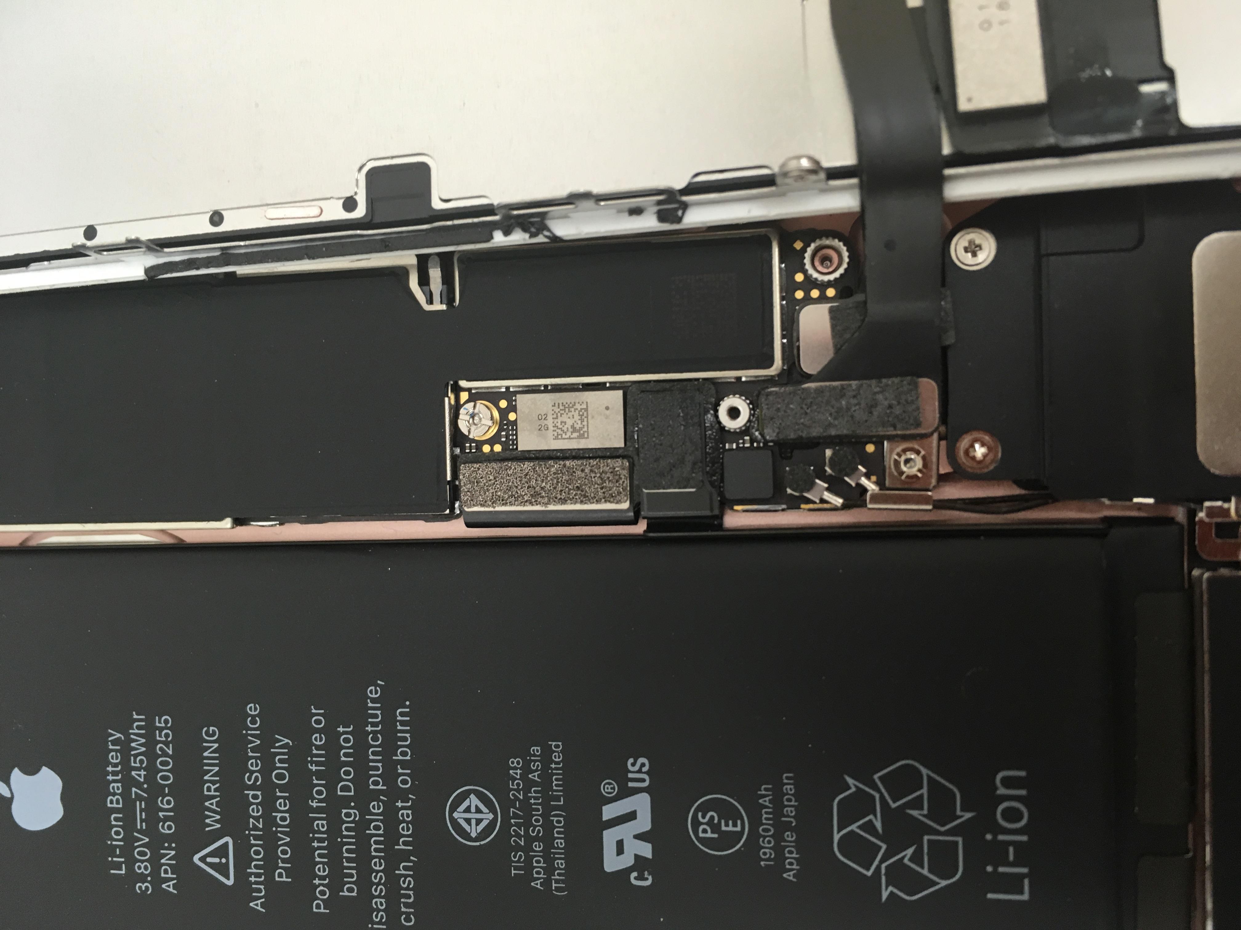 iPhone7の中身の画像