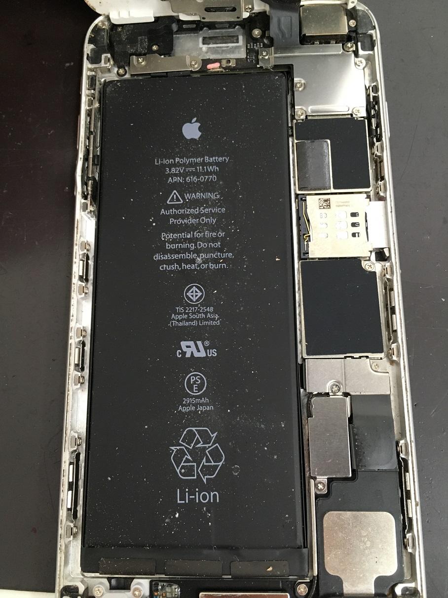 iPhone6Plusの内部
