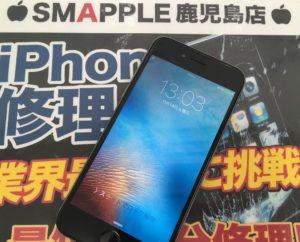 液晶修理後のiPhone6