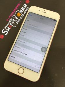 水没復旧したiPhone6s