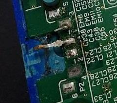 充電口のもげた3DS