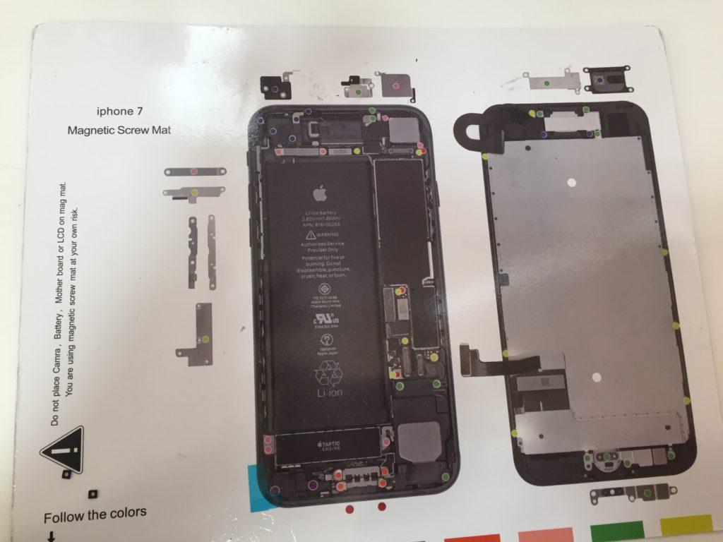 iPhone7ネジMAP画像