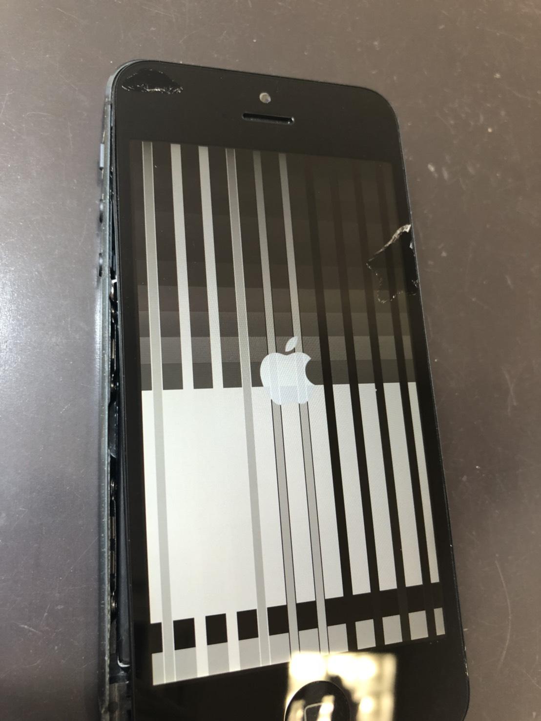 iPhone5の画面故障