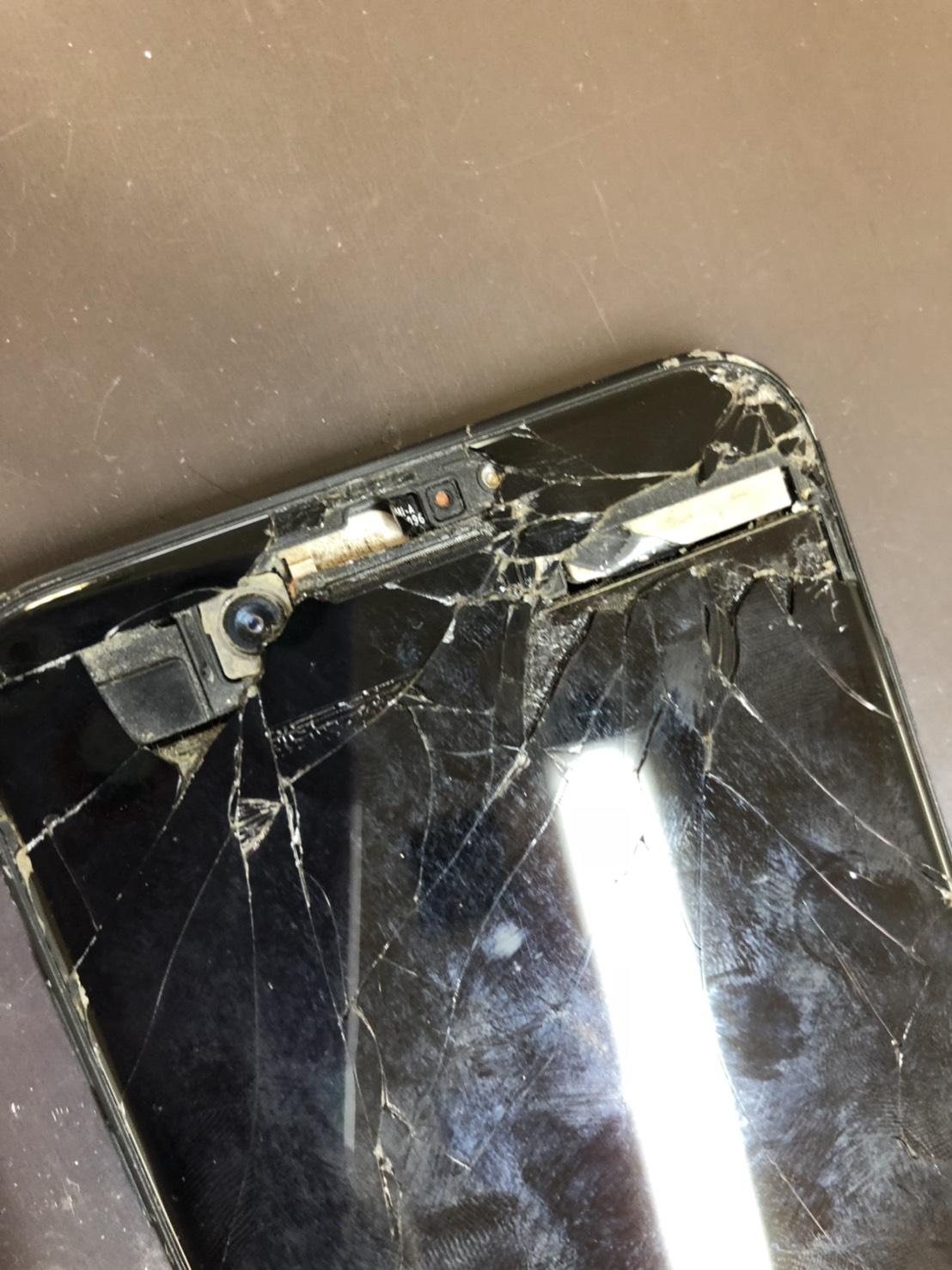 iPhone7の破損2