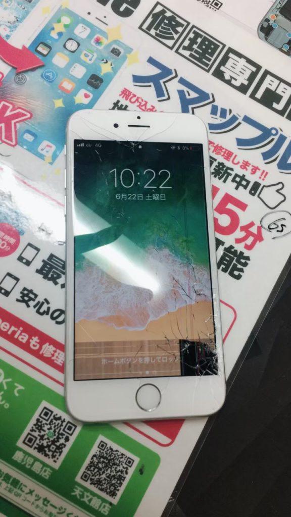 破損液晶iPhone6s