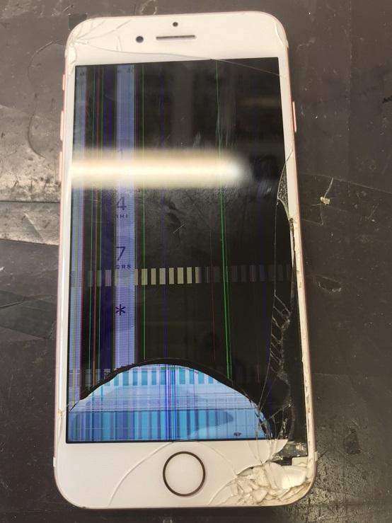 iPhone7修理前写真