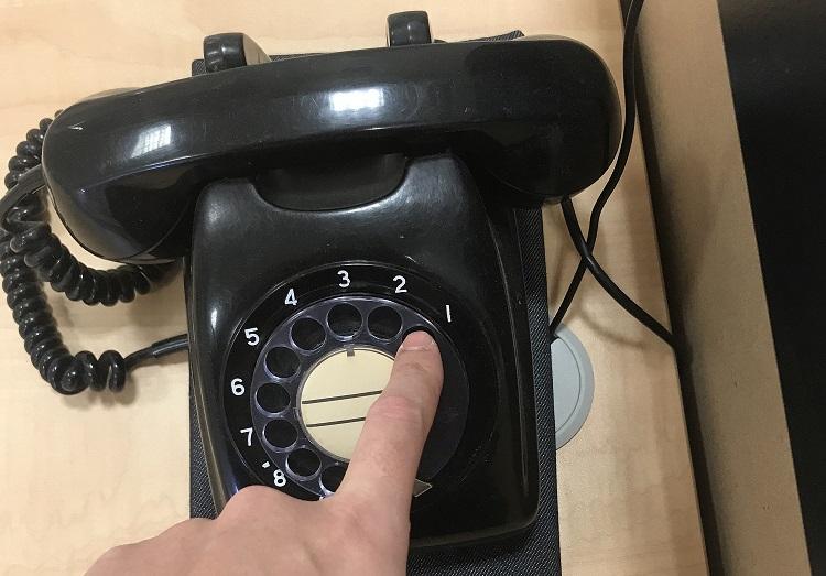 黒電話サンプル画像