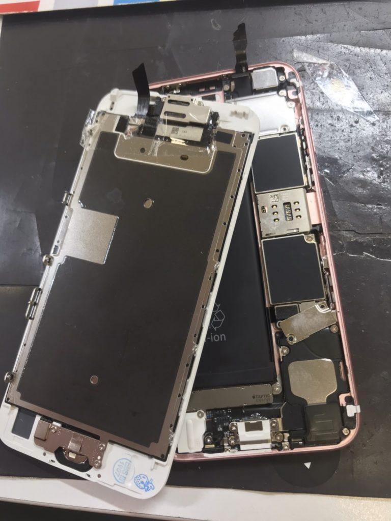 分離したiPhone画像