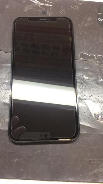修理後のアイフォンX画像