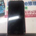 完全に壊れて動かないiPhone8…。画面割れ修理で直りました(^o^)