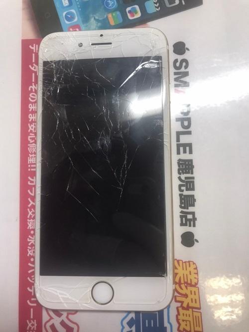 iPhone6s破損