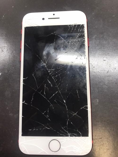 破損iPhone7