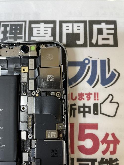 iPhoneXメンテナンス後