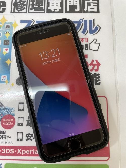 iPhoneSE(第2世代)修理後
