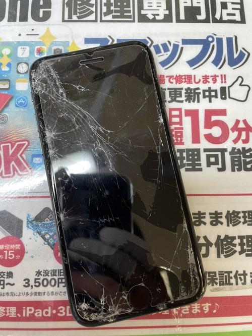 iPhoneSE(第2世代)修理前