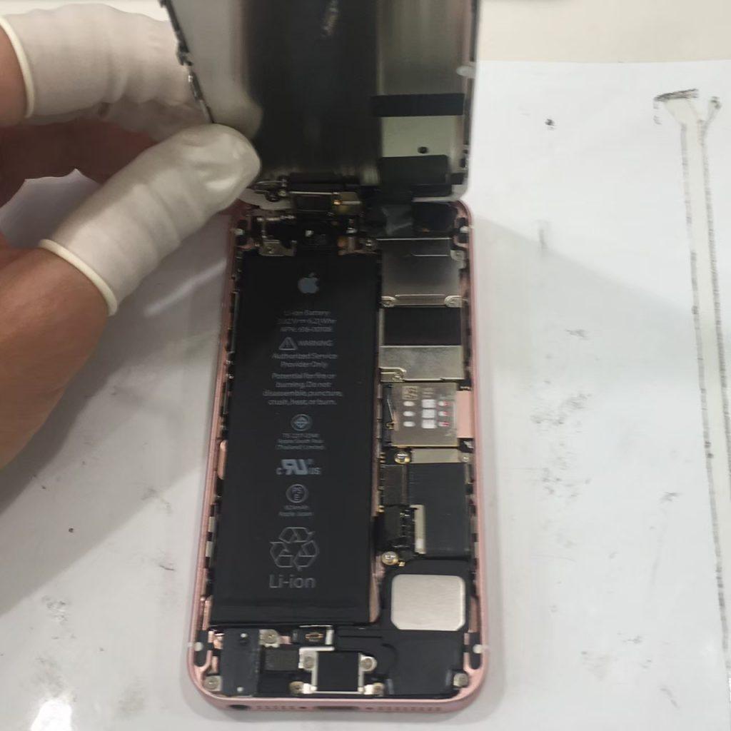 iPhoneの中